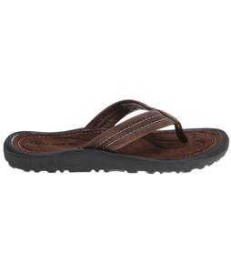 Rafters Breeze Leather Sandals Chocolate