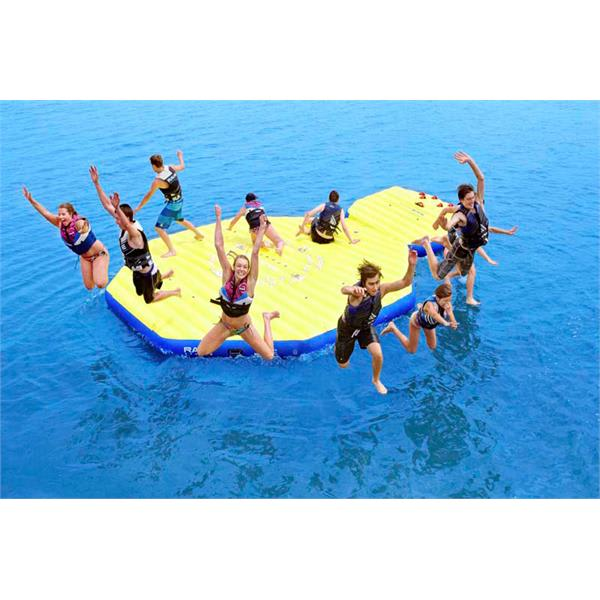 Rave Activity Island Inflatable w/ Ez Up II