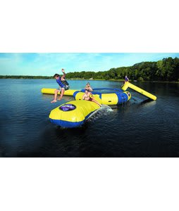 Rave Aqua Jump Water Trampoline 15 w/ Launch And Log