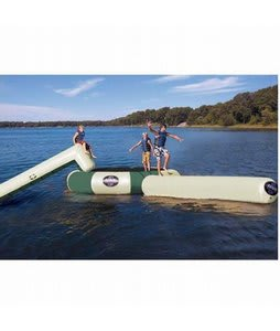 Rave Bongo Northwoods Water Bouncers 13 w/ Slide And Log