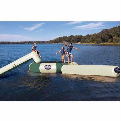 Shop for Rave Bongo Northwoods Water Bouncers 10 w/ Slide And Log