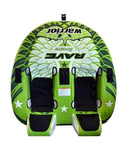Rave Warrior 2 Towable Tube 2 Person
