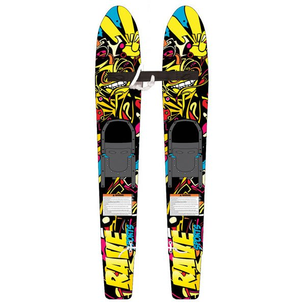 Rave Rim Trainer 115 Waterskis w/ Aqua Buddy Kit