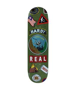 Real Hardy Ramblin Man Skateboard Deck