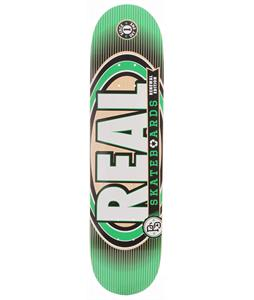 Real Renewal IV Med Skateboard Green 7.75