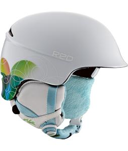 Red Aletta Snowboard Helmet Jello
