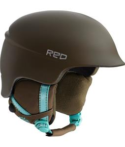 Red Aletta Snowboard Helmet Decoy