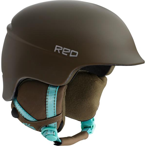 Red Aletta Snow Helmet
