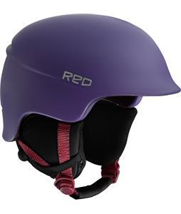 Red Aletta Snowboard Helmet Violet