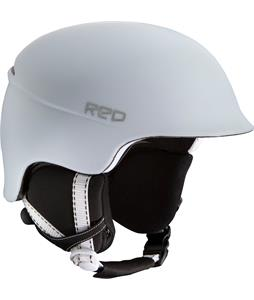 Red Aletta Snowboard Helmet White