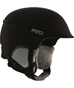 Red Aletta Snowboard Helmet Black
