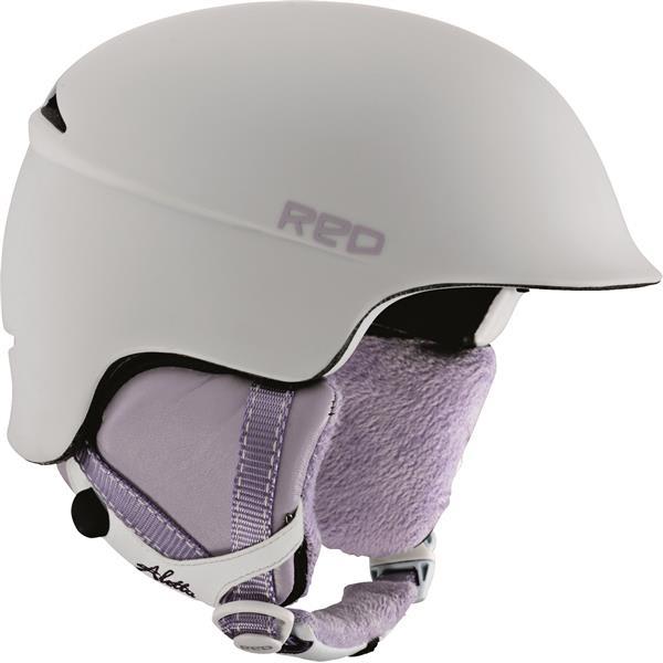 Red Aletta Snow Helmet