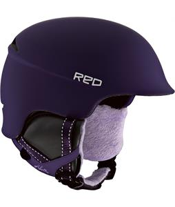 Red Aletta Snowboard Helmet Purple