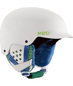 Red Asylum Snowboard Helmet Aura