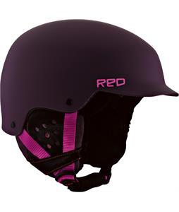 Red Asylum Snowboard Helmet Spike
