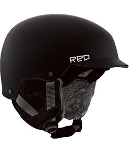 Red Asylum Snowboard Helmet Black