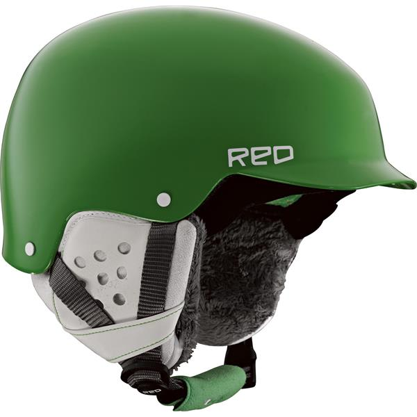 Red Asylum Snow Helmet