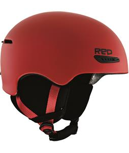 Red Avid Asian Fit Snowboard Helmet Red