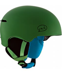 Red Avid Grom Snowboard Helmet Green