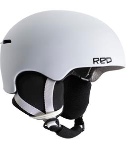 Red Avid Grom Snowboard Helmet White