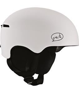Red Avid Grom Snowboard Helmet White