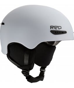 Red Avid Snowboard Helmet White