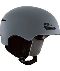 Red Avid Snowboard Helmet Gray