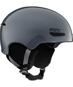 Red Avid Snowboard Helmet Gunmetal