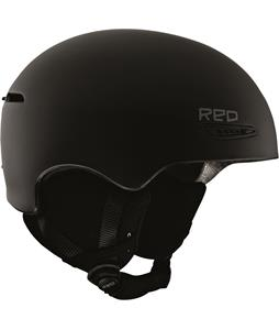Red Avid Snowboard Helmet Black