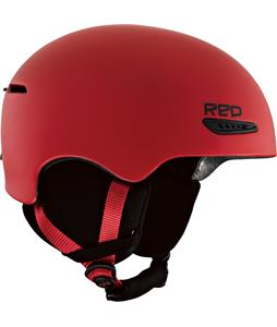 Red Avid Snowboard Helmet Red