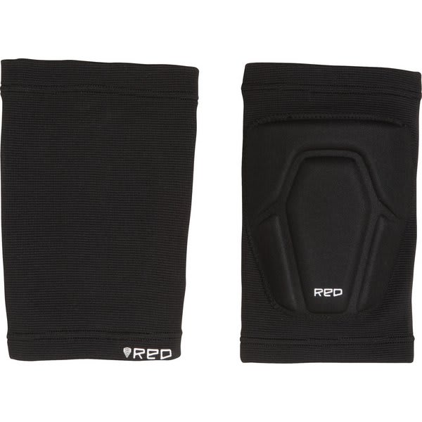 Red Basic Knee Pads Black