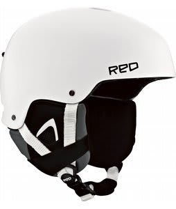Red Cadet Snowboard Helmet White