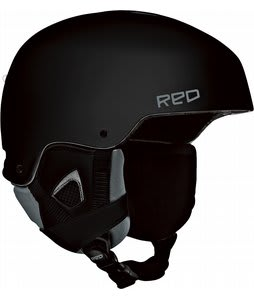 Red Commander Snowboard Helmet Black