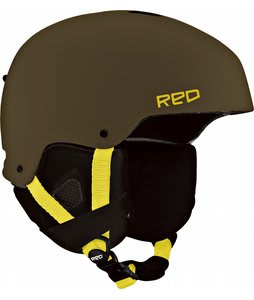 Red Commander Snowboard Helmet Trench