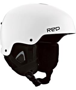 Red Commander Snowboard Helmet White