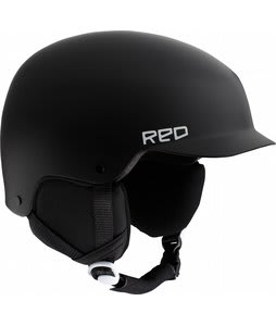 Red Defy Snowboard Helmet Black