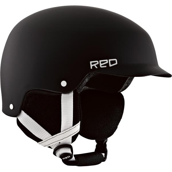 Red Defy Snow Helmet