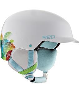 Red Defy Snowboard Helmet Jello