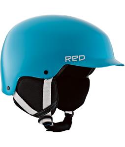 Red Defy Snowboard Helmet Blue