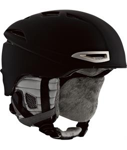 Red Drift Snowboard Helmet Black