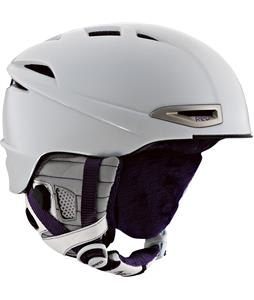Red Drift Snowboard Helmet White/Purple