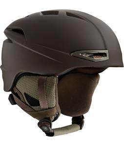 Red Force Snowboard Helmet Hazelnut