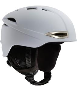 Red Force Snowboard Helmet White Matte