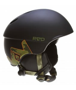 Red Hi-Fi Frends Audio Snowboard Helmet Camo