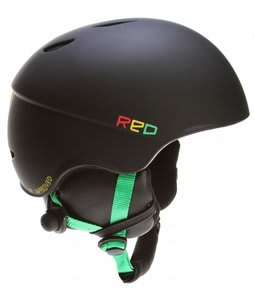 Red Hi-Fi Audio Snowboard Helmet