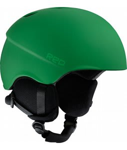Red Hi-Fi Snowboard Helmet Green