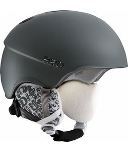 Red Hi-Fi Snowboard Helmet Dark Satin Gray