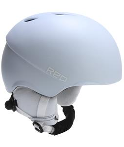 Red Hi-Fi Snowboard Helmet White