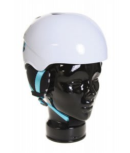 Red Hi Fi Youth Snowboard Helmet White
