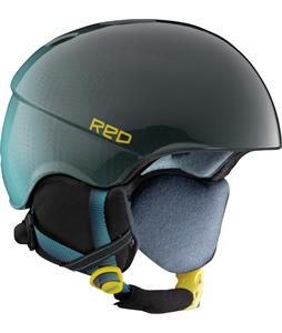 Red Hi-Fi Snowboard Helmet Fade To Black